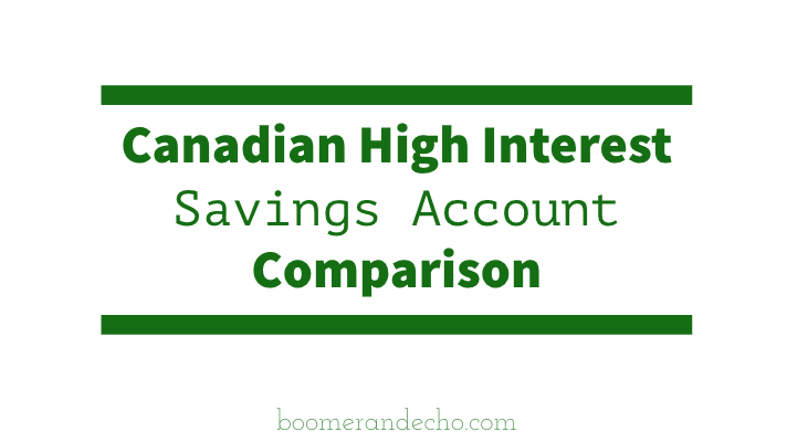 Compare savings accounts and interest rates
