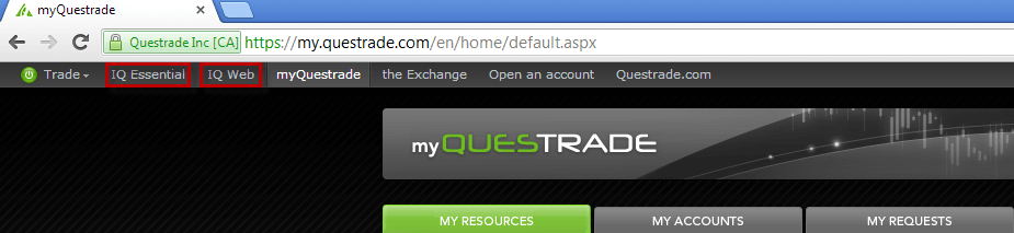 Questrade: Opening the platform