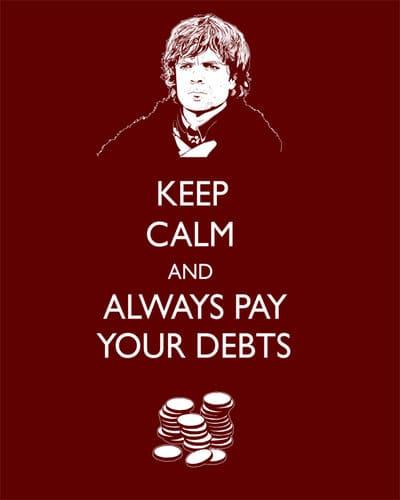 Always pay your debts