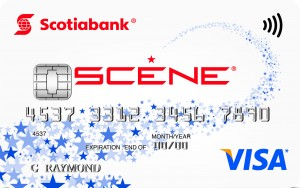 Scene Rewards Visa