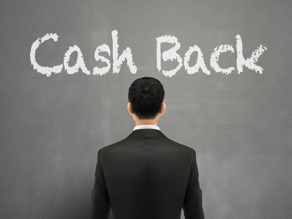 The benefit of cash back rewards