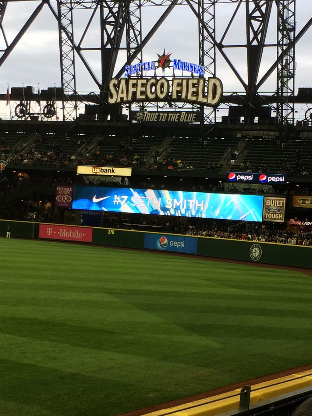 Safeco Field in Seattle