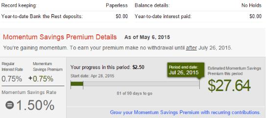 Scotia Momentum Savings Account