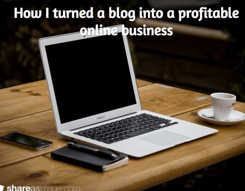 How I turned a blog into a profitable online business