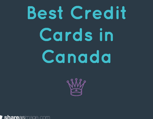 Best Credit Cards in Canada