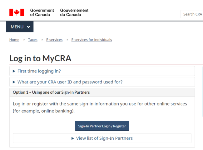 Cra My Account How To Check Your Tax Information Online