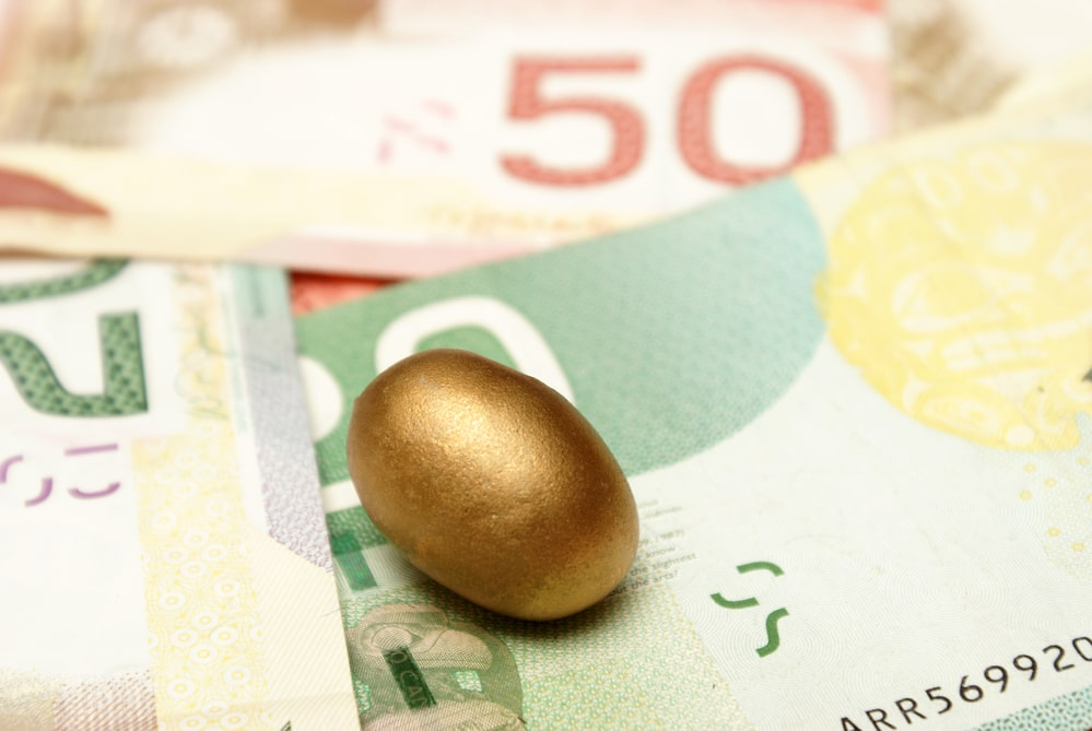 An RRSP contribution is a two-step process
