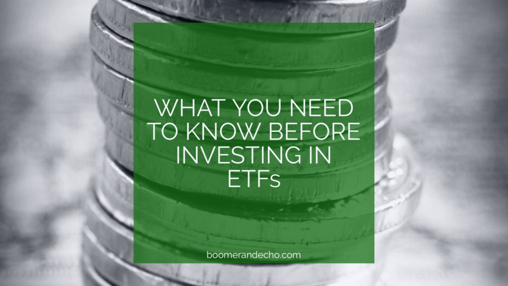 What You Need To Know Before Investing In ETFs