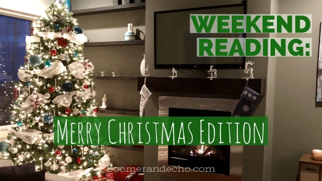 Weekend Reading: Merry Christmas Edition