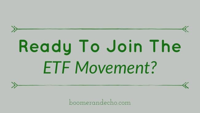 Ready to Join The ETF Movement? Here Are 4 Tips To Get Started