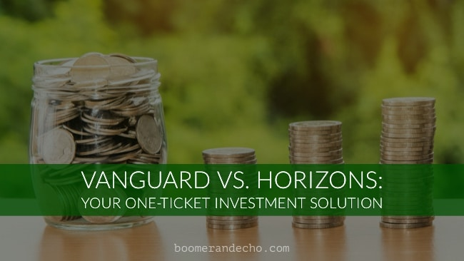 Vanguard and Horizons One Ticket ETF Solution