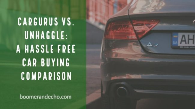 CarGurus vs. Unhaggle: A Hassle Free Car Buying Comparison