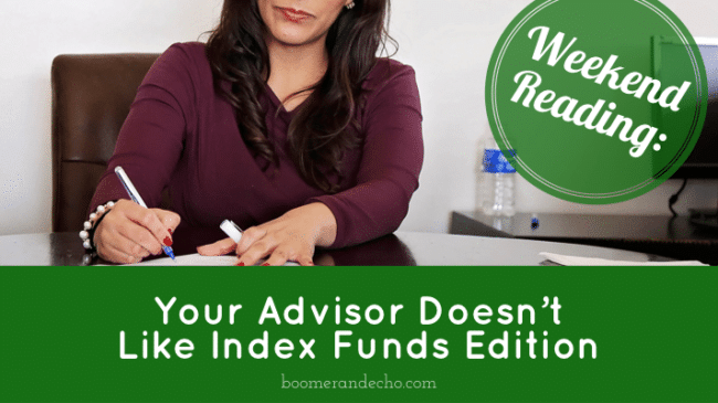 Your Advisor Doesn't Like Index Funds