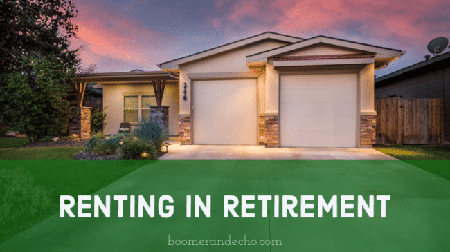 Renting in Retirement