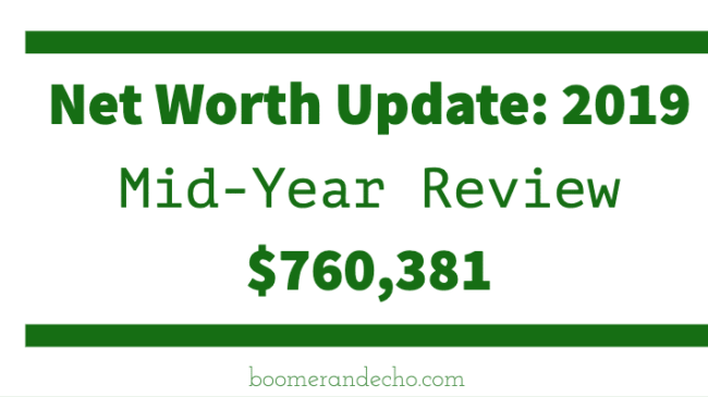 Net Worth Update: 2019 Mid-Year Review