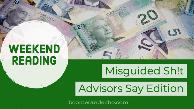 Misguided Sh!t Advisors Say Edition