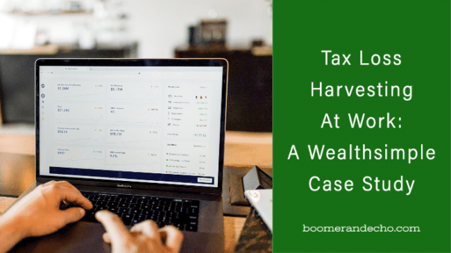 Tax Loss Harvesting At Work: A Wealthsimple Case Study